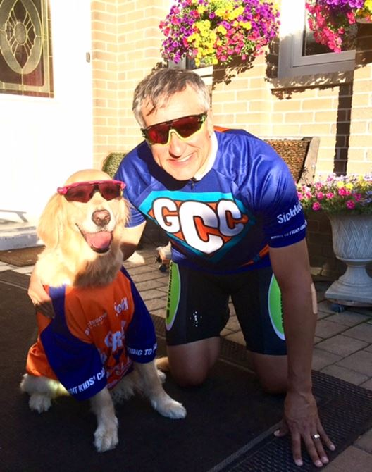 Day 1 - A Big Wave to the other 17,900+ Riders across Canada riding in June for Kids Fighting Cancer
