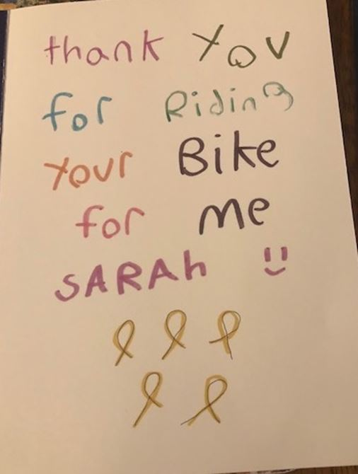 Ride 14- Pending weather Check is tonight for 3rd Ride for Sarah