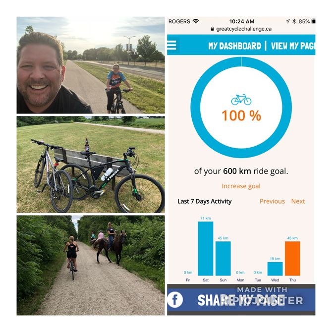 600 Km Personal Challenge Completed!